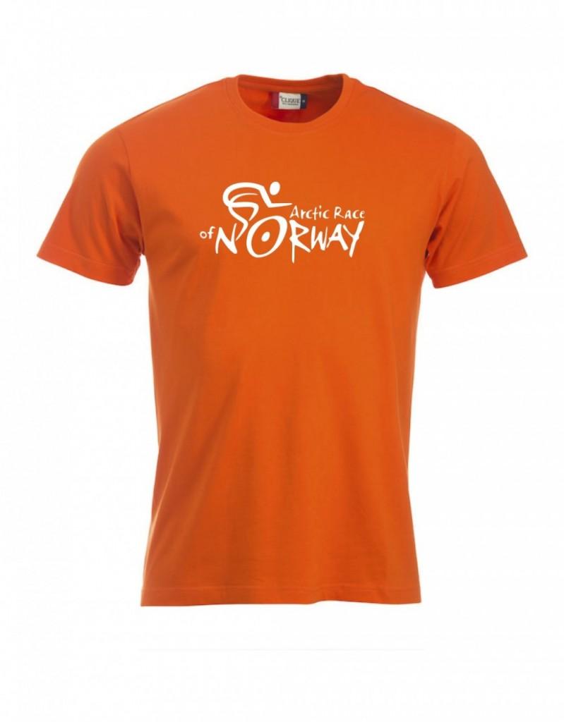 fcdd492e ARN T-skjorte barn orange | Arctic Race of Norway artikler tekstiler ...