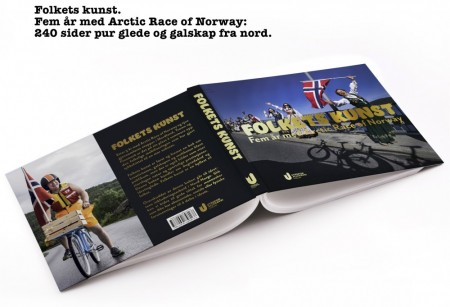 Folkets kunst - boka om Arctic Race of Norway